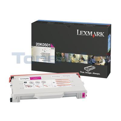 LEXMARK C510 TONER CART MAGENTA 3K